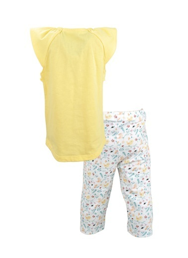 Mininio Sarı Grow Free T-Shirt ve Tayt Takım (9ay-4yaş) Sarı Grow Free T-Shirt ve Tayt Takım (9ay-4yaş) Sarı